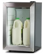 Mini Milk Fridge For Coffee Machines