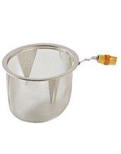 Tea Strainer w Bamboo Handle - Reduced by 50%