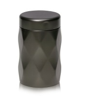 Tea Caddy Cristallo 100g Anthracite