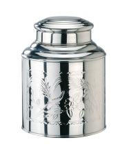 Cafe Tea Caddy Stainless Steel Assorted Sizes