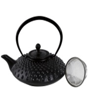 Tea Pot Cast Iron Shanghai Black