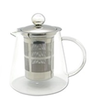 Glass Clear Teapot ORCHID 400ml - SALE WAS $34.00