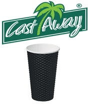 16oz Takeaway Black Dimple Cups Carton 300 Cups