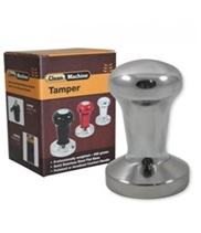 Coffee Tamper 58mm Silver