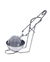 Tea Infuser Tong 45mm w Tray - Reduced by 50%.