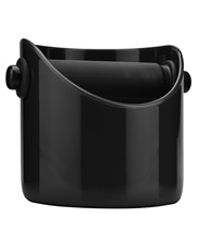 Knock Box For Coffee Grounds - Black