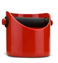 Knock Box For Coffee Grounds - Red