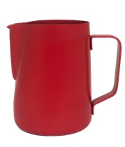 Milk Steaming Jug Red Assorted Sizes
