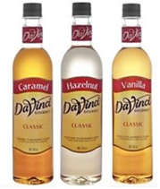 DaVinci Classic Syrups - per 750ml bottle price