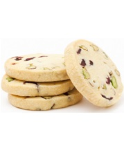 Whisk N Pin Pistachio Cranberry Shortbread
